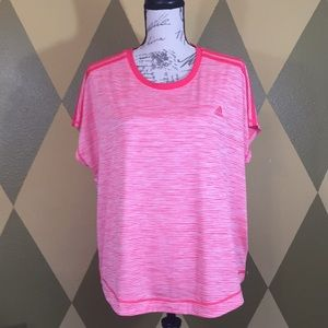 Woman's Adidas Climalite XL (20-22) Workout Tee